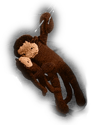 Product picture Monkey & Monkey Baby Crochet Patterns (#105)