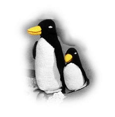 Product picture Penguin and Penguin Baby Crochet Patterns - Stuffed Penguin